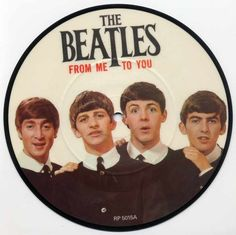 45 record The Beatles From Me to You