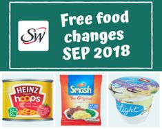 Slimming World Free Food Syn Changes - September 18 — Slimming Survival Slimming World Shopping List, Slimming World Free Foods, Slimming World Plan, Slimming World Biscuits, Asda Slimming World, Slimming Word, Slimming Recipes, Slimming World Survival, Low Fat Sausages