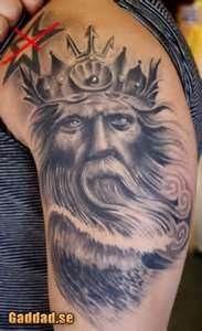 Poseidon Style Greek Mythology Tattoo Designs @baskallides