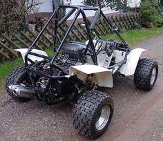 Anybody have a Polaris RZR? Go Kart Buggy, Off Road Buggy, Karting, Kart Cross, Homemade Go Kart, Go Kart Plans, Diy Go Kart, Offroader, Sand Rail