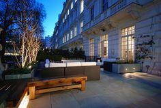 Terrace in Knightsbridge | Charlotte Rowe Garden Design