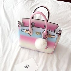 Sweet gradient rainbow bag SE8656