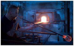 Art in the making at Magnor Glassverk