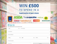 New Way Studio: Win £500 to spend at the Supermarket!
