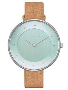 SKAGEN GITTE | SKW2327 Skagen Watches, Smooth Leather, Jewelry Watches, Soft Leather