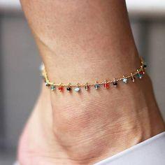Cha/îne de pied punk cha/îne de cheville en argent bracelet de cheville yean menottes pour femmes et filles