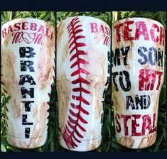 Outstanding detail are offered on our internet site. Have a look and you will not be sorry you did. Vinyl Tumblers, Custom Tumblers, Mom Tumbler, Tumbler Cups, Tumbler Quotes, Baseball Cup, Clemson Baseball, Baseball Buckets, Baseball Live