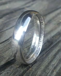 1964 Silver Quarter Ring Size 7