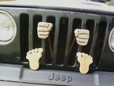 jeep jail - too funny! Jeep Jk, Jeep Truck, Wrangler Accessories, Jeep Accessories, Jeep Wrangler Unlimited, Jeep Rubicon, Wrangler Jeep, Jeep Humor, Jeep Funny