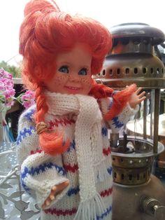 Pippi Tjorven er en dukke fra Ratti,Italia. Søt hva ?