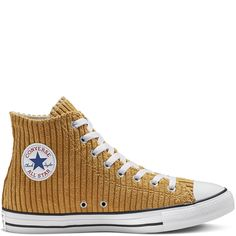 Chuck Taylor All Star Wide Wale Corduroy High Top Wheat/White/Black wheat/white/black