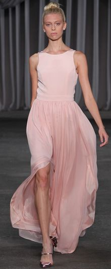 Christian Siriano Spring 2013. Is this dress not the sweetest, most feminine but still kinda sexy thing?  And, this guy got his start on Project Runway - Fierce!!!!