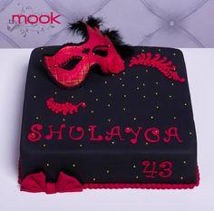Ball masquerade cake