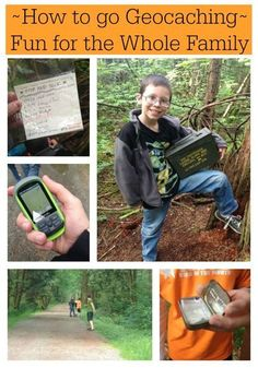 How to go Geocaching (It's like an outdoor treasure hunt) - Great fun for the whole family!