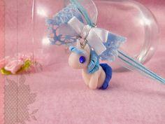 Einhorn Armband mit kawaii Polymer Clay Figur Anhänger Unicorn
