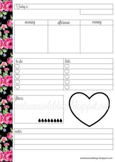 Free Planner Printable | Andrea Nicole…