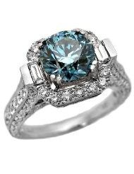 Blue Diamond - I just love the color of blue diamonds!