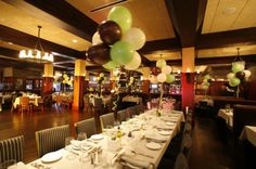 Blackstone Steakhouse is a great space for an afternoon or Sunday night celebration