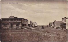 Main Street , ELBOW , Saskatchewan , Canada , 00-10s