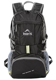 Venture Pal Durable Foldable Hiking Lightweight Portable Stylish Travel Backpack