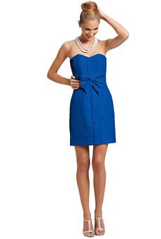 Blue bridesmaid dress by @Kirribilla featured on @Brides