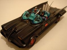 Corgi Toys Batmobile - I inherited this (and the Batboat) from my older brothers