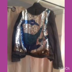 @depop @stargirl_lace Follow us For More: #visualart #art #artist #abstractart #fineart #design #painting #visual #colour #larissamyrie #fashiondesign #upcycledfashion #sustainablefashion #new #fashionicon #fun #style #top #lotd #birds #sequins #sewing #design #remake