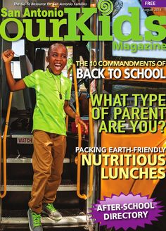August 2014 our kids magazine