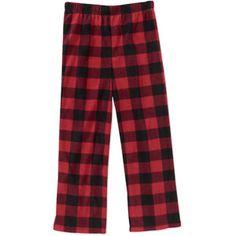 Faded Glory - Boys' Fleece Pajama Pants
