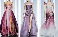 gowns to die for ~ People will stare. Make it worth their while →  Tony Ward Haute Couture | F/W '12-'13
