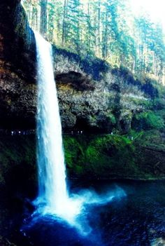 Silver Creek Falls, OR {Reverie Of An Old Soul Photography} #Oregon #Waterfall
