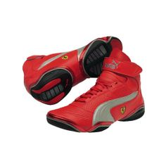FERRARI STORE | Scuderia Ferrari Scattista Mid shoe by Puma, available now on store.ferrari.com #ferraristore #man #shoes