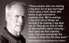 what clint thinks...