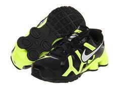Nike Kids Nike Shox Turbo 13 (Toddler/Youth) Black/Volt/Metallic Silver - Zappos.com Free Shipping BOTH Ways