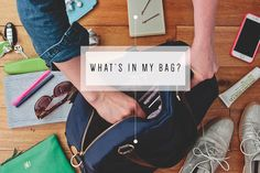 Lo & Sons Bag - What's in my bag - Emily Henderson