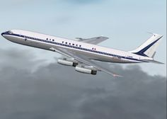 "Boeing 707...for Air France... the first plane I every flew in....the ""Intercontinental"" version..."