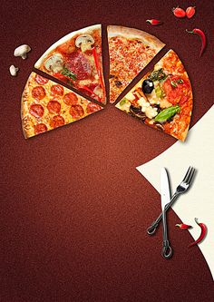 Food Deserts Caramel - Summer Food Videos - Junk Food For Kids - - Food Easy For One Pizza Menu Design, Food Menu Design, Pizza Logo, Pizza Kunst, Comida Pizza, Pizza Background, Pizza Pictures, Food Pictures, Pizza Poster