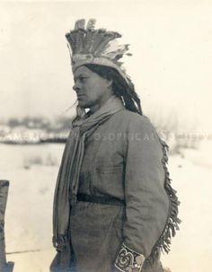 Penobscot man - circa 1910