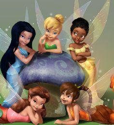 Tinkerbell & friends (Disney fairies)