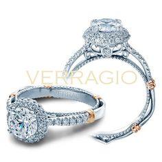 Verragio Parisian D-133RD Prong Engagement Ring