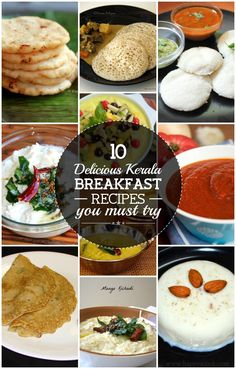 Right from the simple vegetarian foods to the exotic non-vegetarian dishes, the cuisines of Kerala are unmatchable! Here are top 10 Kerala breakfast recipes for you to check out