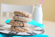 SPCookieQueen: Ginger and Cardamom Cookies - Big, Soft and Chewy