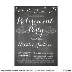 glitter retirement invitation elegant black gold party invitation