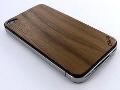 Walnut iPhone Protective Back Skin