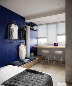 Small apartment, Moscow, 2014 - Tatyana Bobyleva