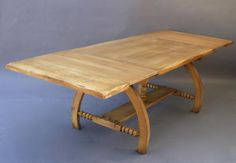 4377. Large Monterey Dining Room Table, Tables and Desks, Antique Monterey, Rancho and California Furniture/Lighting at Revival Antiques
