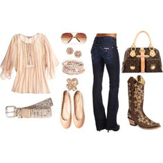 Cowgirl Chic, created by kristina-spitale-efstratis