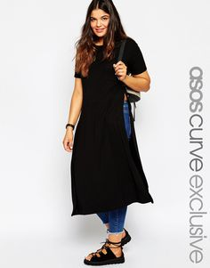 Love the simplicity of this jersey split t-shirt, looks great over jeans: http://asos.do/OKkIok