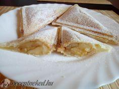 Almás táska szendvics sütőben