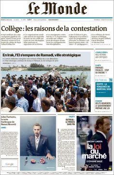 Le Monde 21876 - mardi 19 mai 2015